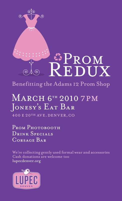 LUPEC Denver presents Prom Redux
